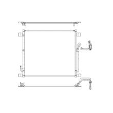 Радиатор кондиционера Koyorad Infiniti EX35/FX35 09-