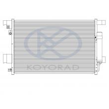 Радиатор кондиционера Koyorad MITSUBISHI OUTLANDER XL-LANCER X 2006-