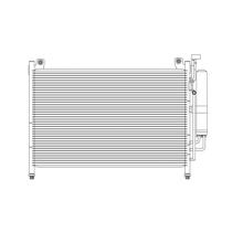 Радиатор кондиционера Koyorad MAZDA 2