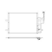 Радиатор кондиционера Koyorad MAZDA 3 5