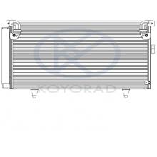 Радиатор кондиционера Koyorad для Subaru Legacy Outback 03- B13