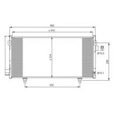 Радиатор кондиционера Koyorad для Subaru Forester SH 2008-2012