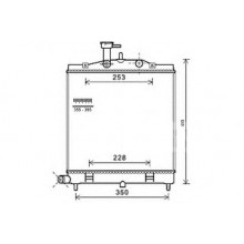 Радиатор охлаждения KIA PICANTO - HCC