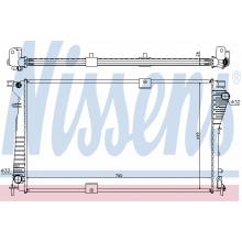 Радиатор охлаждения NISSAN, OPEL, RENAULT - 630709 (NISSENS)