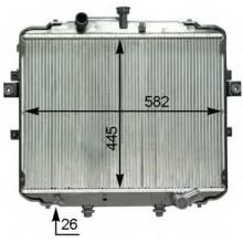 Радиатор охлаждения HYUNDAI H-1, H-200 - HCC
