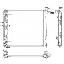 Радиатор охлаждения для хюндай ix35, хундай туксон, киа спортейдж
