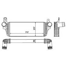 Интеркулер VW CARAVELLE, MULTIVAN, TRANSPORTER - 047025N (AKS DASIS)