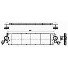 Интеркулер для фольксваген транспортер, мультивен, каравелла