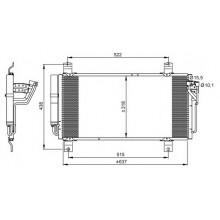 Радиатор кондиционера MAZDA 6 GH 08.2007 - до н.в. - 112036N