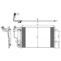 Радиатор кондиционера MAZDA 3 BL 06.2009 -