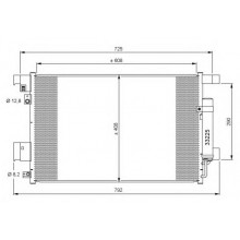 Радиатор кондиционера LANCER 10 (EX) ASX  AIRCROSS - 142025N