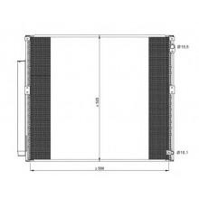 Радиатор кондиционера TOYOTA LAND CRUISER - 212049N (AKS DASIS)