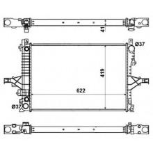 Радиатор охлаждения VOLVO C70, S60, S80, V70, XC70 - 220001N (AKS DASIS)
