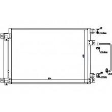 Радиатор кондиционера SUBARU TRIBECA - 352009N (AKS DASIS)