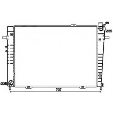 Радиатор охлаждения HYUNDAI TUCSON / KIA SPORTAGE - 510113N (AKS DASIS)