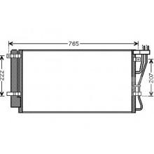 Радиатор кондиционера KIA CARENS 2.0 CRDi 06 - до н.в. - 512035N