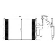 Радиатор кондиционера MAZDA 3, 5 - 112026N (AKS DASIS)