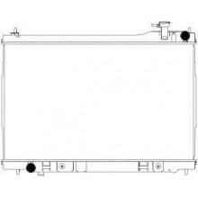 Радиатор охлаждения INFINITI FX 35 - 070144N (AKS DASIS)