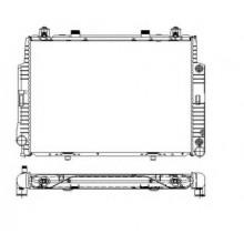 Радиатор охлаждения MERCEDES S-CLASS W140, C140 - 122730N (AKS DASIS)