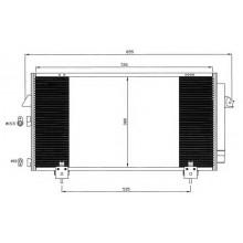 Радиатор кондиционера TOYOTA RAV 4 - 212018N (AKS DASIS)