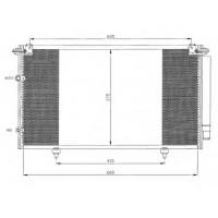 Радиатор кондиционера TOYOTA CAMRY - 212035N (AKS DASIS)