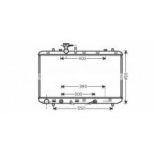 Радиатор охлаждения SUZUKI SX4 - 320037N (AKS DASIS)