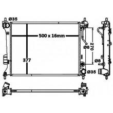 Радиатор охлаждения HYUNDAI i20 / KIA VENGA - 560071N (AKS DASIS)