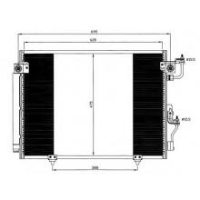 Радиатор кондиционера MITSUBISHI MONTERO, PAJERO - 142022N (AKS DASIS)