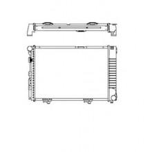 Радиатор охлаждения MERCEDES E-CLASS 124 - POLCAR