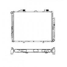 Радиатор охлаждения MERCEDES E-CLASS 210 - POLCAR
