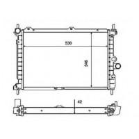 Радиатор охлаждения OPEL ASTRA F - POLCAR