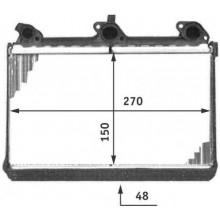 Радиатор печки BMW 5, 7, 8 - POLCAR