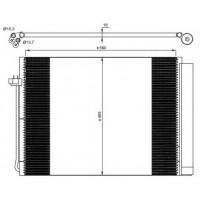 Радиатор кондиционера BMW X5, X6 - POLCAR