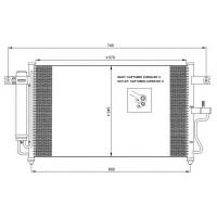 Радиатор кондиционера HYUNDAI ACCENT - POLCAR