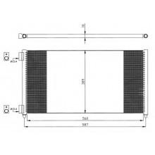 Радиатор кондиционера для фиат добло, фиат пунто