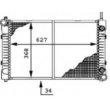 Радиатор охлаждения MERCEDES T2 - RADAUTO