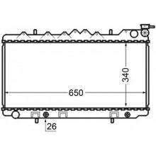 Радиатор охлаждения NISSAN PRIMERA - 070081N (AKS DASIS)
