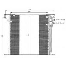 Радиатор кондиционера MERCEDES VITO - RADAUTO