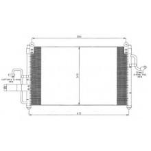 Радиатор кондиционера для део нубира