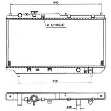 Радиатор охлаждения MAZDA 323 - KOYORAD