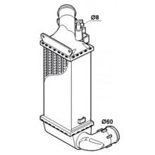 Интеркулер CITROEN, PEUGEOT - 067080N (AKS DASIS)