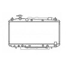 Радиатор охлаждения RAV 4 - автомат KOYORAD PL010984