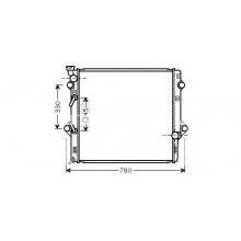 Радиатор охлаждения для лексус джх 470