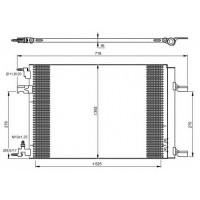 Радиатор кондиционера CHEVROLE, OPEL (KOYORAD)