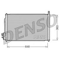 Радиатор кондиционера FORD FOCUS (DENSO)