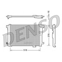 Радиатор кондиционера MERCEDES C-CLASS, E-CLASS, CLK (DENSO)