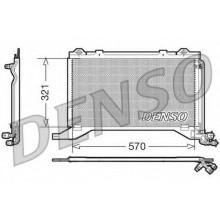 Радиатор кондиционера MERCEDES E-CLASS 210 (DENSO)
