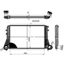 Интеркулер AUDI A3 / SEAT ALTEA, LEON, TOLEDO / SKODA OCTAVIA / VW GOLF,TOURAN