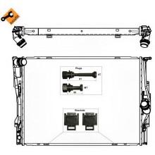 Радиатор охлаждения BMW 3 (E46) / BMW Z4 (E85) 050390N (AKS DASIS)