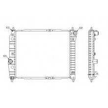 Радиатор охлаждения CHEVROLET AVEO - 510068N (AKS DASIS)